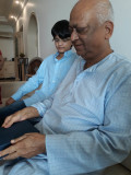 With Nanu on his birthday