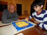Playing Stay Alive with Nanu