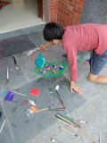 Rangoli for Diwali celebrations