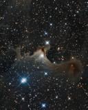 Sh2-136, Vdb 141, Ghost Nebula