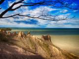 Upstate NY; Chimney Bluffs, Letchworth, Erie Canal, Sodus