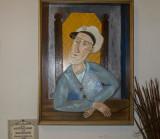 Howard Solomon Self Portrait.
