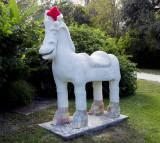 Solomons Castle Horse of a Different Color