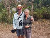 Fiona Reid and Per Holmen