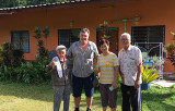 Former communist fighters now happy villagers at our homestay