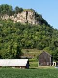 Farm Below the Cliffs