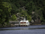 Port of Taylors Falls Riverboat  on the St Croix River