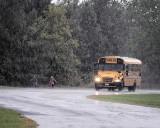 Downpour School Bus