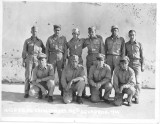A B-24 bomber crew with a pbase member's Dad
