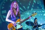 A Purple-haired Bass Guitarist