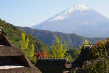 Mount Fuji and Huts