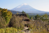 Mount Fuji and House of Babbling Brook