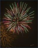 Fireworks Over the Bakcyard