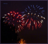 Fireworks Over the Bckyard