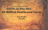 42 Million Confirmed US COVID Cases (9-19-21)