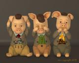 Poser 3D renders - Characters