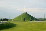 Hero City obelisk at the entry to Minsk