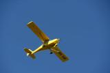 Single-engine B&F Fk9 sightseeing over Reunion (974 KW)