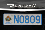 Cortina d'Ampezzo is an upscale destination - Maserati with San Marino plates