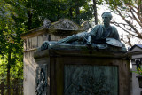 Père Lachaise - Théodore Géricault (1791-1824), French Artist famous for the 1812 The Charging Chasseur, included on the tomb