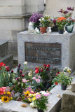Père Lachaise - Jim Morrison (1943-1971), American musician of the rock band The Doors