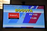 Avianca flight from Lima to Bogota