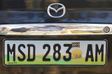 Special South African license plate