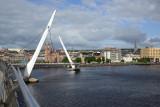 Peace Bridge, River Foyle