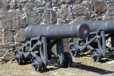 Cannon at the base of the Keep, Carrickfergus Castle