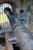 Cannon inside the Gatehouse, Carrickfergus Castle