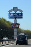 Entering the Belarusian Capital, Minsk
