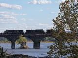 Locos On Bridge