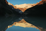Lake Louise and Lake Agnes