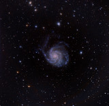 Messier 101, une galaxie grand design