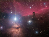 IC_434 et Barnard 33, la Tête de Cheval