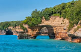 87.1 - Pictured Rocks - Lover's Leap Arch