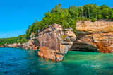 Pictured Rocks - Beautiful Colors
