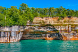 Pictured Rocks - Rainbow Cave