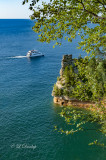 Pictured Rocks Miner' s Castle, Vertical From Overlook