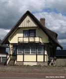 Wooden house in Egmond aan Zee