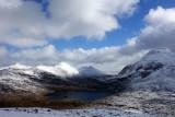 Mar 19 Torridon- looking south to Fuar Tholl