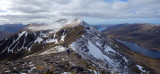 Mar 19 Slioch NW Scotland- looking west back to the summit