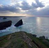 April 2019 Day6 Portreath looking for a campsite
