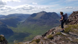 June 19 Fisherfield 6 munro round after the first summit