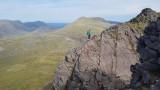 June 19 Fisherfield 6 munro round - Beinn Tarsuinn summit no 4