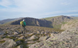 July 19 Cairngorms camp- Walk out at 8am going round Cairngorm
