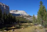 We descended west then hiked north up Rock Creek