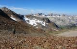 McGee Pass - descending west