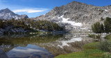 Descending down Rams Lakes