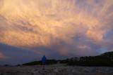 Mammoth Crest camp- cool evening light